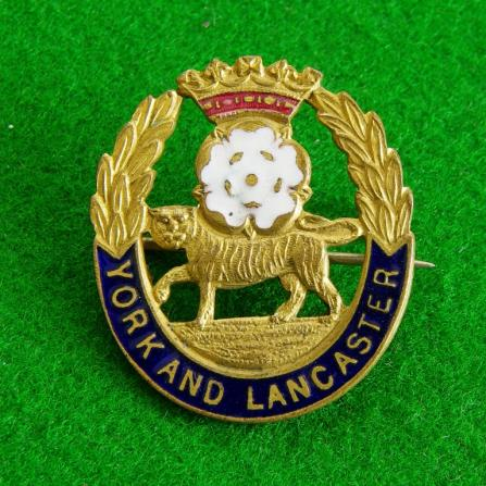 York and Lancaster Regiment.