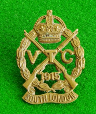 South London Volunteer Training Corps.