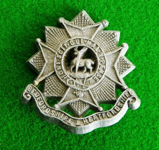 Bedfordshire and Hertfordshire Regiment.